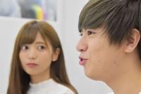 太田プロへの所属を発表した人気YouTuber・ヴァンゆん (左から、ゆん、ヴァンビ)