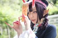 『東京ゲームショウ2019』コスプレイヤー・もすけさん<br>(『FGO』酒呑童子)