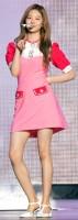 ステージに登場したキム・ミンジュ