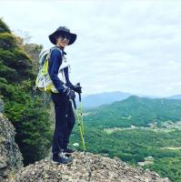 「昨年の夏は山にも登りましたー#自然からパワーチャージ」早霧せいなInstagramより(@seinasagiri_officia)