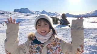浜辺美波と岡田健史出演『JR SKISKI』CM動画より