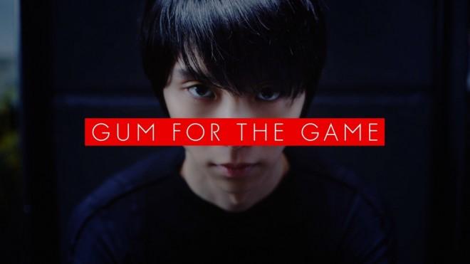 ロッテの『GUM FOR THE GAME』プロジェクトの新CM「何故」篇「事実」篇より