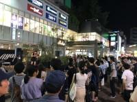 吉祥寺で野外ライブを開くAyasa