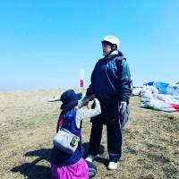 石原詢子のプライベートショット(熱気球体験 in セドナ)