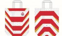 日本代表ジャージー柄の新商品トートバッグ