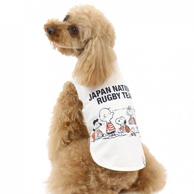 犬用Tシャツ(C) JRFU(C) 2019 Peanuts Worldwide LLC