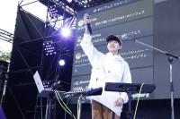 『J-WAVE INNOVATION WORLD FESTA 2019 supported by CHINTAI』に出演した、SASUKE