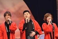 出演者全員で本公演のテーマソングで唱歌「ふるさと」を合唱