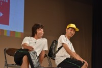 【京都国際映画祭2019】『SDGs-1グランプリ』ネタを披露するアキナ