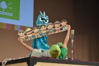 【京都国際映画祭2019】『SDGs-1グランプリ』ネタを披露する笑福亭鶴笑