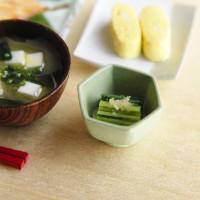 【ミニチュア】アジの開き定食 制作&写真/田波亨(Petit Palm)