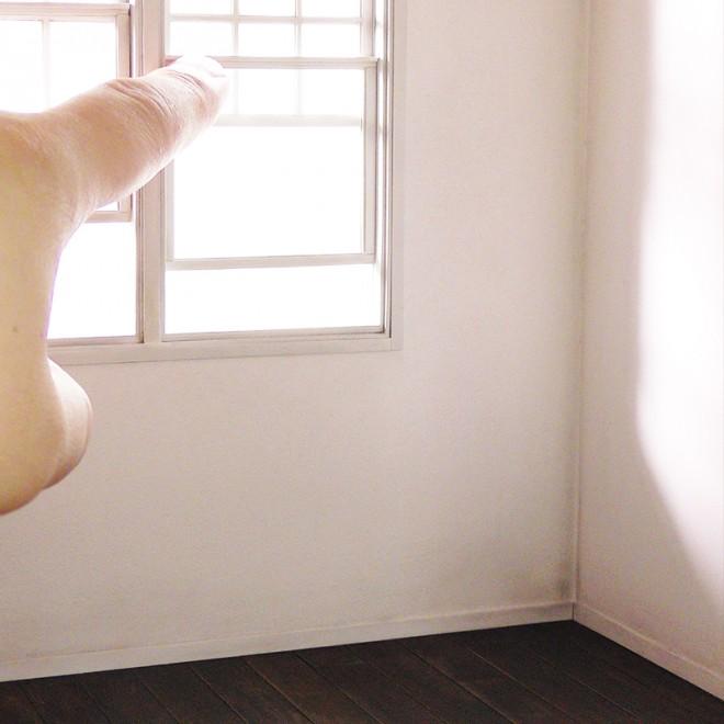 【ミニチュア】白い部屋 制作&写真/田波亨(Petit Palm)