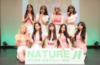 10月13日に東京・お台場ヴィーナスフォートにてCD発売記念イベントを日本初開催したNATURE