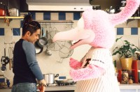 1990年代、『シャウエッセン』のCMに出演していた久保田利伸