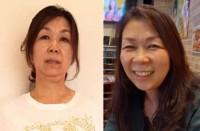 【体験者before(左)→after(右)】顔トレを長く続け、毛穴が目立たないキレイな肌に(N・Mさん58歳)