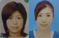 【体験者before(左)→after(右)】顔トレを続ければ50代でも間延びした顔が引き締まり、フェイスラインすっきり(S・Tさん53歳)