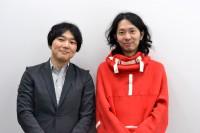 『知らない人んち(仮)〜あなたのアイデア、来週放送されます!〜』のプロデュースを手がける、テレビ東京の合田知弘氏(左)と、演出・プロデュースを手がける太田勇氏