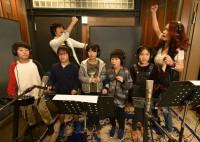 『東京グレートサンタラン2019〜ラン&ファンウォーク』のアンバサダーを務める大黒摩季、公式テーマソング「サンタラン Run♪Run♪」レコーディング風景