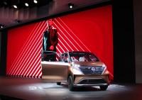 「第46回東京モーターショー2019」で展示された日産の小型電気自動車『IMk』