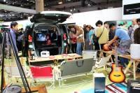 「第46回東京モーターショー2019」で展示されたホンダの『FREED CROSSTAR』