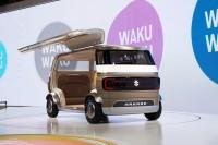 「第46回東京モーターショー2019」で展示されたスズキの『HANARE』