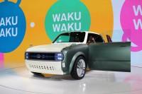 「第46回東京モーターショー2019」で展示されたスズキの『WAKUスポ』