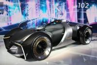 「第46回東京モーターショー2019」で展示されたトヨタ自動車の「e-RACER」