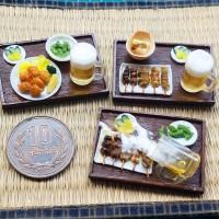 【焼き鳥とこばれたビール】制作&写真/yama