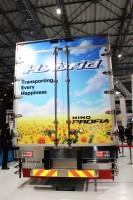 「第46回東京モーターショー2019」の日野自動車ブースで展示された『日野プロフィア』