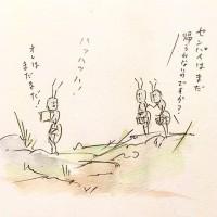 働きアリの労働2/『ゆるふわ昆虫図鑑』(作者:じゅえき太郎)より