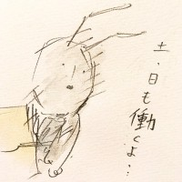 働きアリの労働3/『ゆるふわ昆虫図鑑』(作者:じゅえき太郎)より