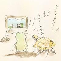 マリオの衝撃2/『ゆるふわ昆虫図鑑』(作者:じゅえき太郎)より
