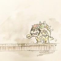 亀とマリオ3/『ゆるふわ昆虫図鑑』(作者:じゅえき太郎)より