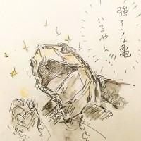 亀とマリオ4/『ゆるふわ昆虫図鑑』(作者:じゅえき太郎)より