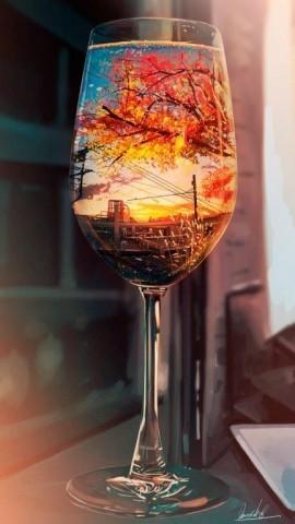 「秋のカクテル」