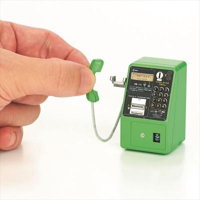 電話ボックスにこもって研究されたデザインでリアルに再現 画像提供:NTT東日本 協力:NTT技術史料館