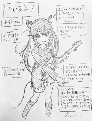 『けいおん!』中野梓
