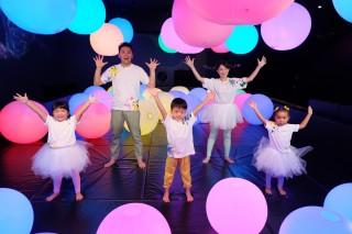 「シナぷしゅダンス」を楽しそうに踊るメ番組メンバー