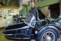 東京・杉並区で都内で唯一となるサイドカー専門店・ブリストルドックス 池田澄生氏