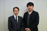 (左)菊野浩樹氏、(右)後藤隆二氏