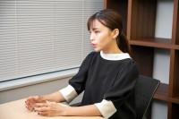 インタビュー中の和田さん。
