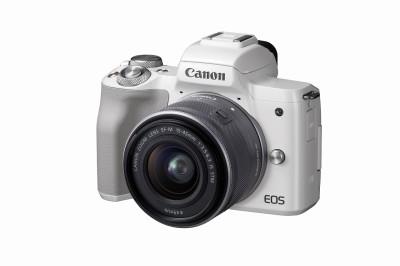 キヤノンのもっとも人気のある売れ筋No.1機種「EOS Kiss M」(APS-Cサイズミラーレスカメラ)