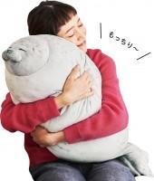 ぎゅーっと抱きしめるともっちりとした抱き心地だという