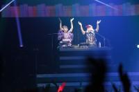 DJを務める人気声優・小宮有紗とDJ KOO/今年10月5日開催された『Anime Rave Festival vol.5』は、Zeppダイバーシティを満員にした