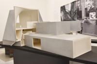 ヴァージニア・コモンウェルス大学 現代美術研究所(アメリカ・リッチモンド)/アメリカを代表する建築家スティーブン・ホール氏による建築模型(建築倉庫ミュージアム『Steven Holl:Making Architecture』より)