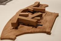ホリゾンタル・スカイスクレーパー ヴァンケ・センター(中国・深セン)/アメリカを代表する建築家スティーブン・ホール氏による建築模型(建築倉庫ミュージアム『Steven Holl:Making Architecture』より)