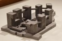 リンクト・ハイブリッド(中国・北京)/アメリカを代表する建築家スティーブン・ホール氏による建築模型(建築倉庫ミュージアム『Steven Holl:Making Architecture』より)