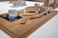 青島文化芸術センター(中国・青島)/アメリカを代表する建築家スティーブン・ホール氏による建築模型(建築倉庫ミュージアム『Steven Holl:Making Architecture』より)
