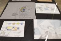 構想段階のイラスト・デザイン(建築倉庫ミュージアム『Steven Holl:Making Architecture』より)