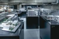 国内唯一の建築模型に特化した建築倉庫ミュージアムの模型保管倉庫